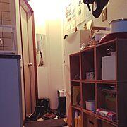 DIY/狭い部屋/IKEA/Entrance…などのインテリア実例