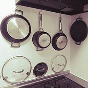 料理道具のインテリア実例写真