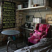 Bedroom/バスサイン/寝室/knot antiques/クラッシュクラッシュ/クラッシュゲート…などのインテリア実例
