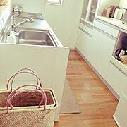 キッチン すっきり~♪/Kitchen…などのインテリア実例