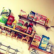 カルディ/100均/KALDI/海外パッケージ/IKEA/Kitchen…などのインテリア実例