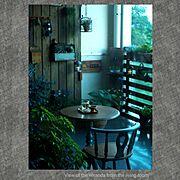 Bathroom/グリーン/春の庭/リビングから見たベランダ/リビングからの眺め/ベランダガーデン…などのインテリア実例