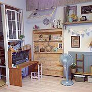 ディアウォール/ナチュラルインテリア/DIY/和室とリビング/連投すみません/Lounge…などのインテリア実例