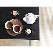器/賃貸マンション/古道具/和室/畳/お茶の時間…などのインテリア実例