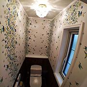 総柄/海外インテリアに憧れる/カラフル/Bathroom…などのインテリア実例