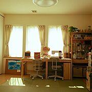 子育て中/いなざうるす屋さん♡/100均/こどもと暮らす。/カントリー/DIY…などのインテリア実例