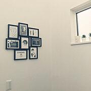IKEAの観葉植物のインテリア実例写真