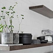 背面棚/Kitchen…などのインテリア実例