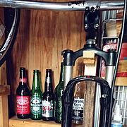 自転車のインテリア実例写真
