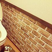 リメイクシート/セリア/100均/セリアリメイクシート/Bathroom…などのインテリア実例