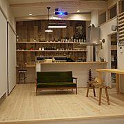 Lounge/スキップフロア/カリモク60/カリモクと私…などのインテリア実例