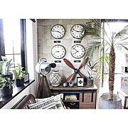 Lounge/プロペラ/IKEA/ブログ更新しました♡/セルフリノベーション/DIY家具…などのインテリア実例