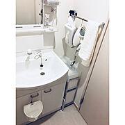 IKEA/優秀すぎる100均シリーズ/無印良品/歯ブラシスタンド/セリア/モノトーン…などのインテリア実例