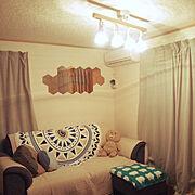 HOME COORDY/南仏風/北欧ナチュラル/IKEA/いいね、フォロー本当に感謝です♡/Lounge…などのインテリア実例