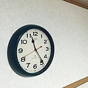 電波時計のインテリア実例写真