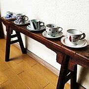 作家さんの器/和食器/作家 陶器/アジアン雑貨/コーヒーカップ&ソーサー/Bedroom…などのインテリア実例