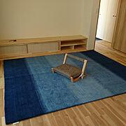 じゅうたんのインテリア実例写真