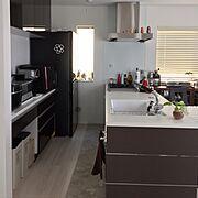 デロンギのケトル/Kitchen…などのインテリア実例