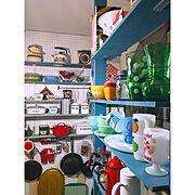 キッチン改造中/真鍮製ワインラック/KINTO/セルフリフォーム/中古住宅…などに関連する他の写真