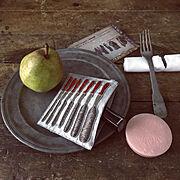 皿のインテリア実例写真