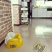 IKEA/あかちゃんのいる部屋/赤ちゃんのいる暮らし/赤ちゃんのいる部屋/ナチュラル…などのインテリア実例