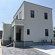 モノトーン/スタンプコンクリート/注文住宅/家づくり/新築一戸建て/海外インテリア…などのインテリア実例