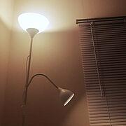 IKEA 照明/1K ひとり暮らし/ひとり暮らし/7畳/1K/ブラインド…などのインテリア実例
