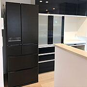 新築建築中/冷蔵庫搬入後/Kitchen…などのインテリア実例
