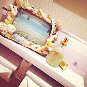 貝殻/ハンドメイド/手作り/海 写真 /Bathroom…などのインテリア実例