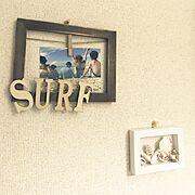 西海岸風/麻紐/DIY/沖縄の貝/グルーガン初心者/セリア…などのインテリア実例