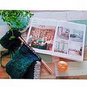 雑貨/mix style/いつもありがとうございます♡/棒編み始めました/NO GREEN NO LIFE…などのインテリア実例