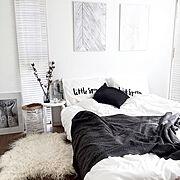 IKEAのレール/1R/1K/フェイクグリーン/ホワイトインテリア/モノトーン…などに関連する他の写真