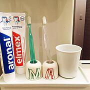 無印良品/アロナール&エルメックス/Bathroom…などのインテリア実例