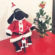 ダイソー/10分でできる/クリスマス飾り/My Shelf…などのインテリア実例