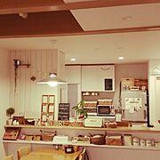 照明/DIY/セリア/3Coins/100均/Kitchen…などのインテリア実例