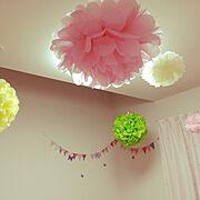 娘の部屋(*´ω`*)のインテリア実例写真