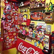 カラフル/LEGO/おもちゃ/マクドナルド/TOY/ごちゃごちゃ…などのインテリア実例