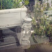 カフェ/カフェインテリア/男前/一人暮らし/観葉植物/ベランダガーデン…などのインテリア実例
