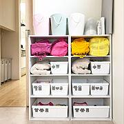 My Shelf/収納/シンプル/IG→yuka.home/北欧/楽天roomやってます…などのインテリア実例