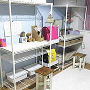 神奈川県民/棚DIY/賃貸でも楽しく♪/セリア/賃貸/DIY…などに関連する他の写真