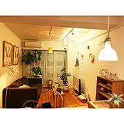 MUUTO/ウンベラータ/フランスゴムの木/北欧/漆喰壁/IKEA…などのインテリア実例
