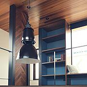 TRUCK/アイアン/インダストリアル/吹き抜け/板張り天井/ベンチ…などのインテリア実例