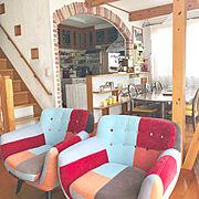 赤/北欧/Moomin/アクセントクロス/赤いソファー/Lounge…などに関連する他の写真