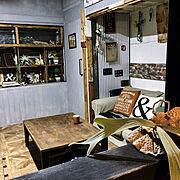 キッズルーム/かるかるブリック/本棚DIY/木工雑貨/遊び部屋/中二階…などに関連する他の写真