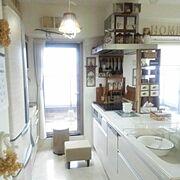 2016.9.5/kitchen kitchen/3coios/salut!/サンプリング当選♡…などのインテリア実例