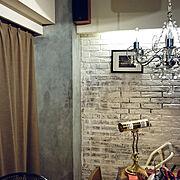 夜景が観える部屋のインテリア実例写真