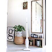 Entrance/ブログ更新しました♡/インスタやってます♡/観葉植物/DIY…などのインテリア実例