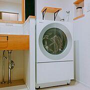 洗面所/Panasonic洗濯機/Bathroom…などのインテリア実例