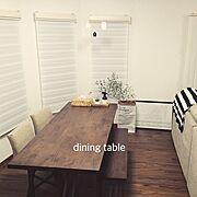 Overview/TOCCO/イケア/ダイニングテーブル&チェア/シンプルライフ/ダイニングテーブル…などのインテリア実例