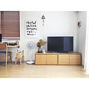 Lounge/おうち/すっきり暮らす/シンプルなお家/無印良品/IG→______________.ma…などのインテリア実例